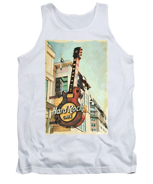 Hard Rock Guitar Tank Top
