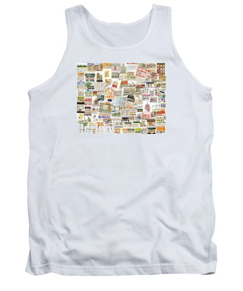 Harlem Collage Of Old And New Tank Top by AFineLyne