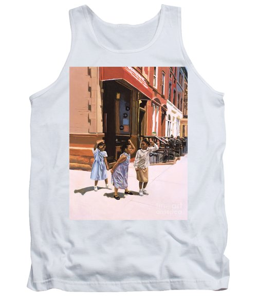 Harlem Jig Tank Top by Colin Bootman