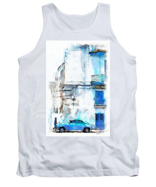 Havana Street Tank Top by Greg Collins