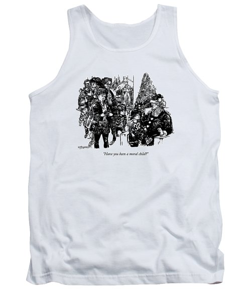 Have You Been A Moral Child? Tank Top