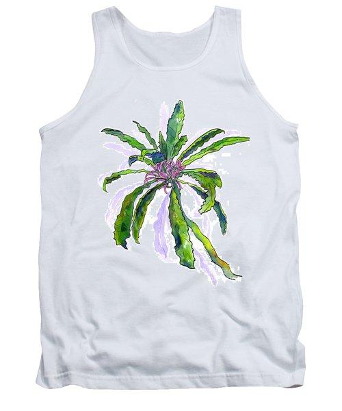 Hawaiian Haha Plant Cyanea Stictophylla Tank Top