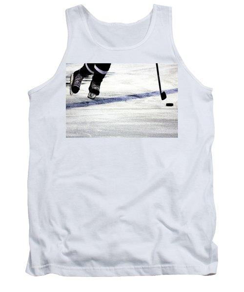 He Skates Tank Top