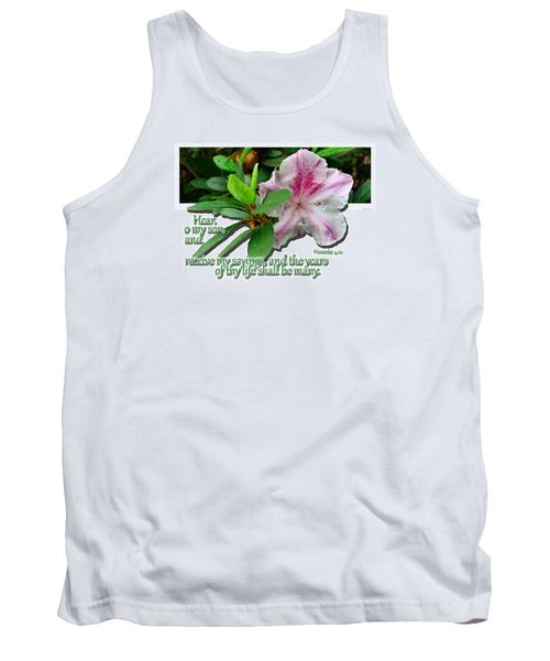 Tank Top featuring the photograph Hear And Receive by Larry Bishop