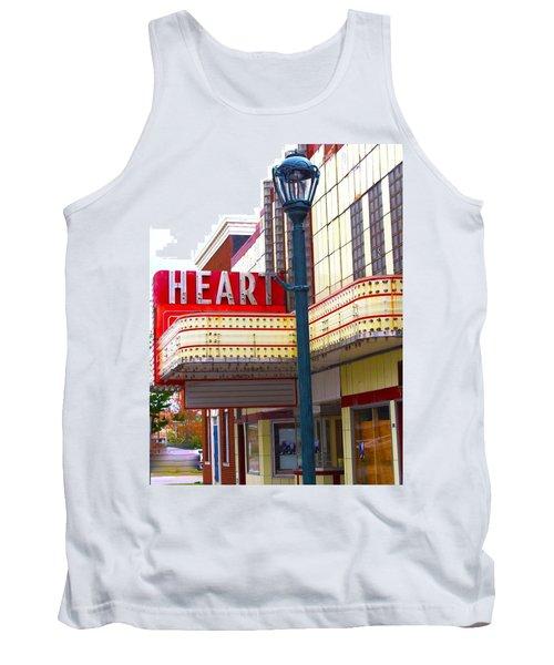 Heart Theatre Effingham Illinois  Tank Top