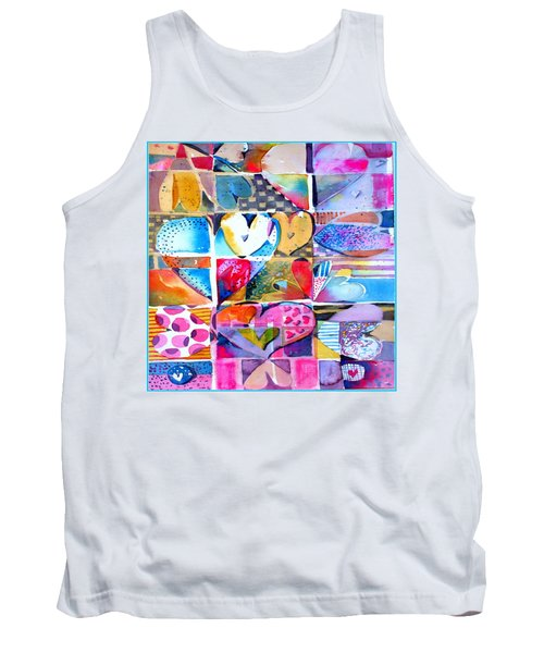 Heart Throbs Tank Top by Mindy Newman