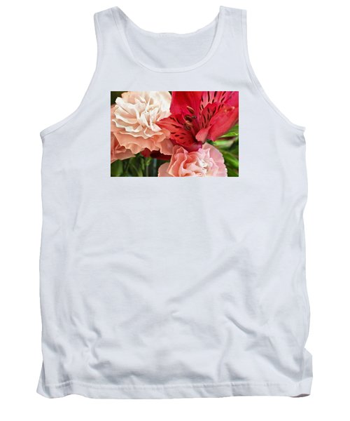 Tank Top featuring the photograph Heart's A Flutter by Julie Andel
