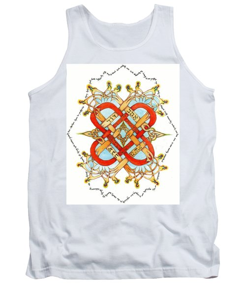 Hebrew Words For Love Tank Top