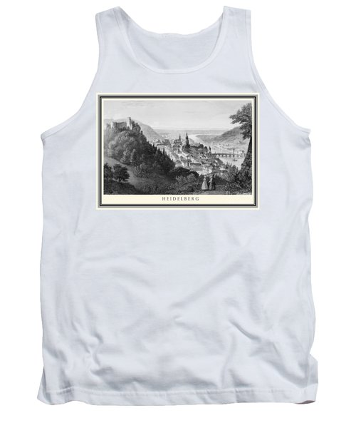 Heidelberg Etching Tank Top