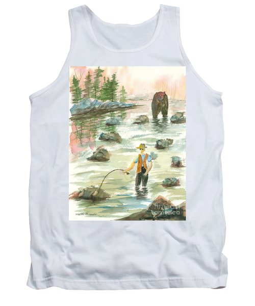 Help Is On The Way Tank Top