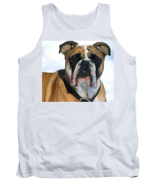 Tank Top featuring the photograph Hey Good Looking by Kay Novy