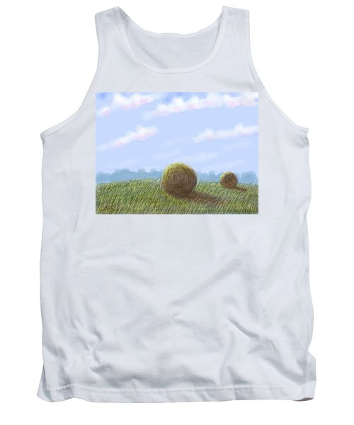 Hey I See Hay Tank Top by Stacy C Bottoms