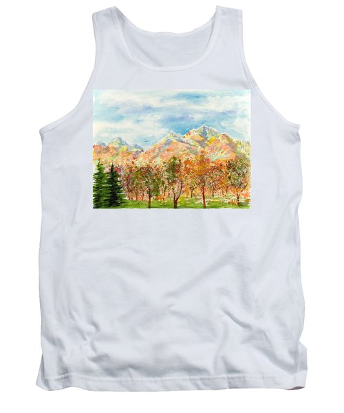 Highlands Autumn Tank Top
