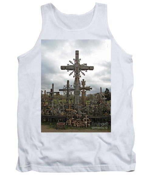 Hill Of Crosses 06. Lithuania.  Tank Top