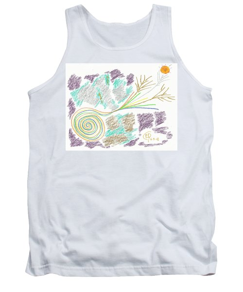 His Mastery's Voice Tank Top by Mark David Gerson