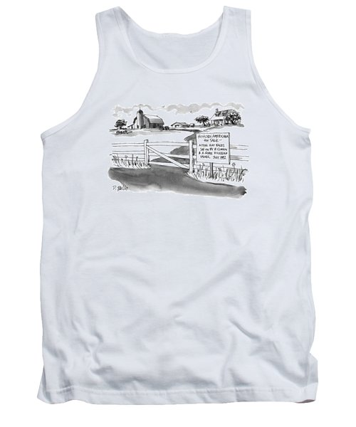 Historic Americana For Sale - Actual Hay Bales Tank Top