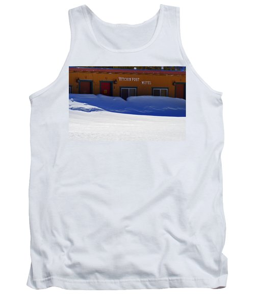 Hitchin' Post March Tank Top by Jeremy Rhoades