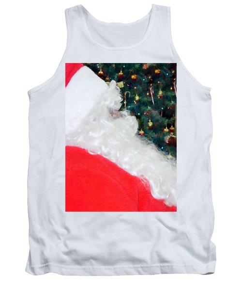 Tank Top featuring the photograph Santa Claus by Vizual Studio