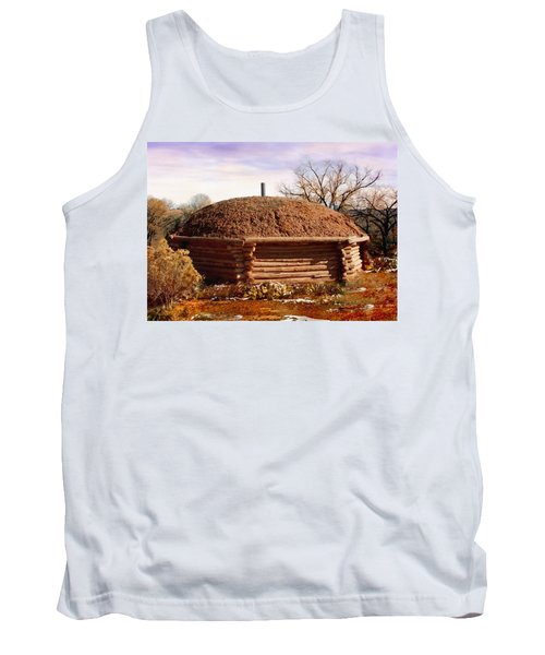 Hogan Monument Valley Winter Painting Tank Top