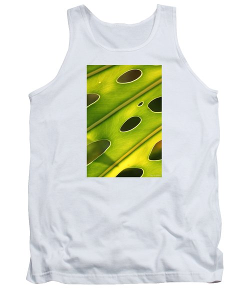 Tank Top featuring the photograph Holey Light by Amy Gallagher