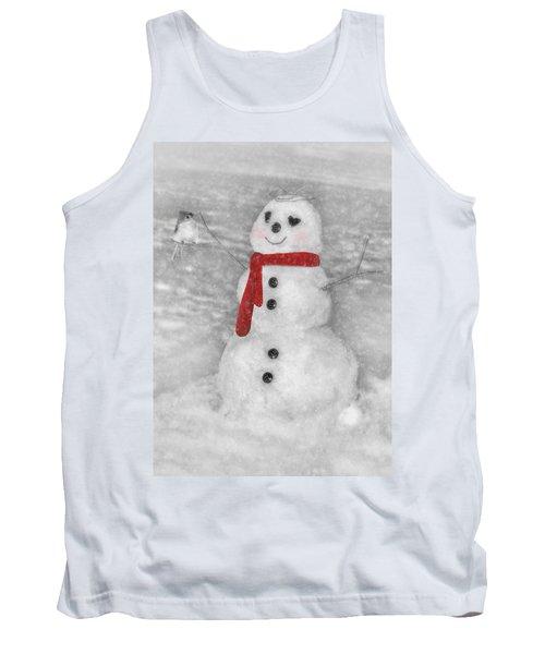 Holiday Snowman Tank Top