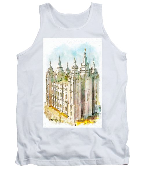 Holiness To The Lord Tank Top