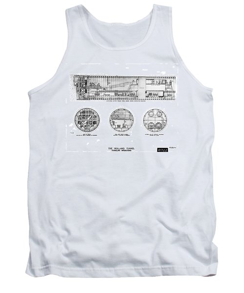 Holland Tunnel Construction Tank Top