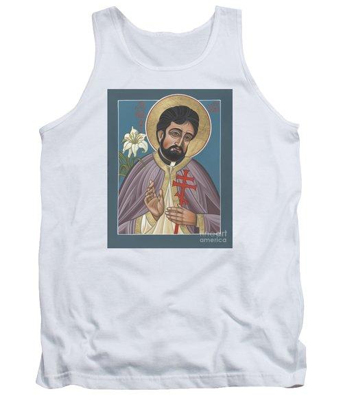 Tank Top featuring the painting Holy New Martyr Father John Karastamatis Of Santa Cruz 216 by William Hart McNichols