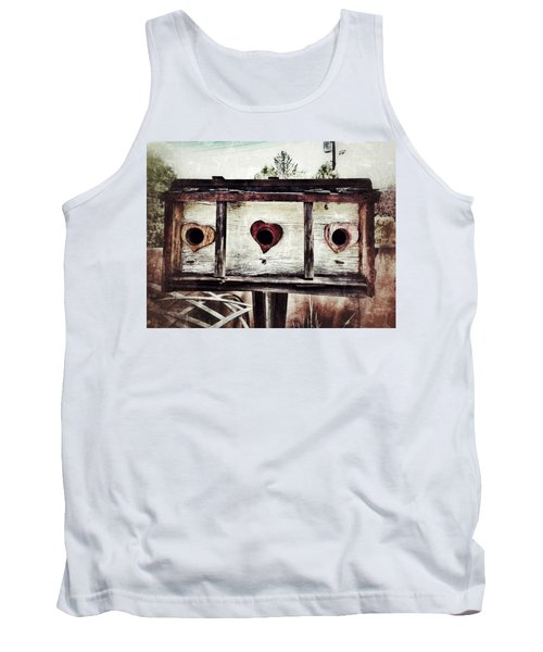 Home Sweet Home Tank Top by Mark David Gerson