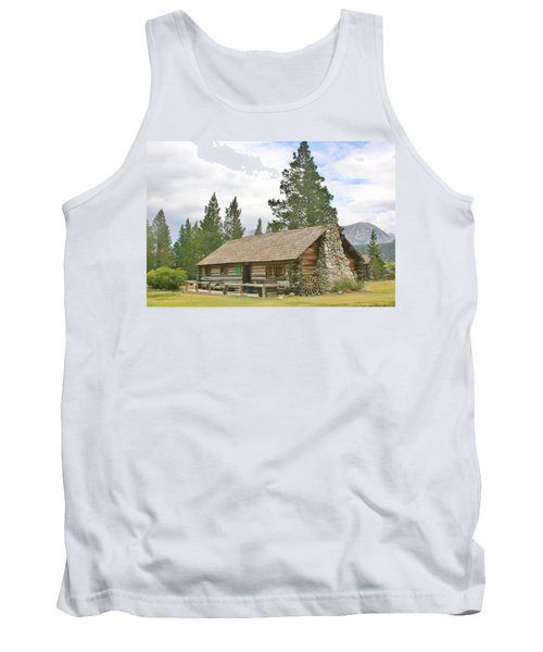 Tank Top featuring the photograph Homesteaded by Marilyn Diaz