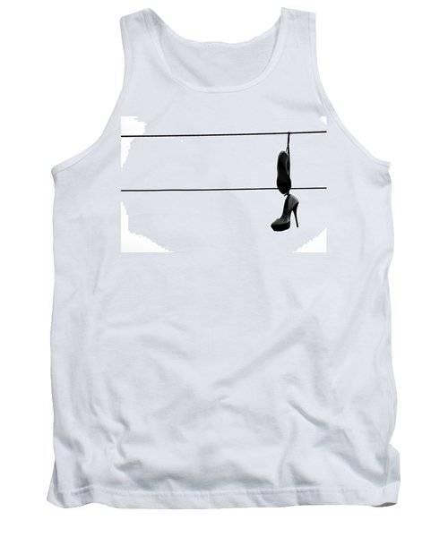 Hooked And Booked  Tank Top