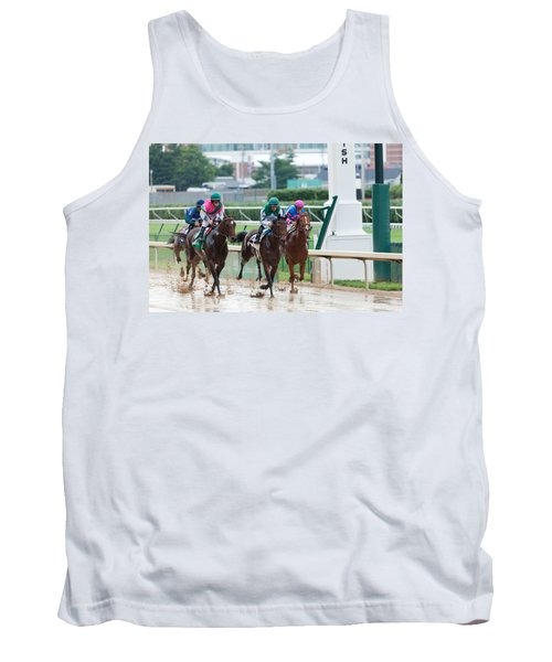 Horse Races At Churchill Downs Tank Top