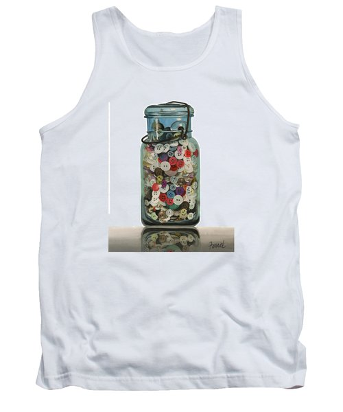 Hot Buttons Tank Top by Ferrel Cordle