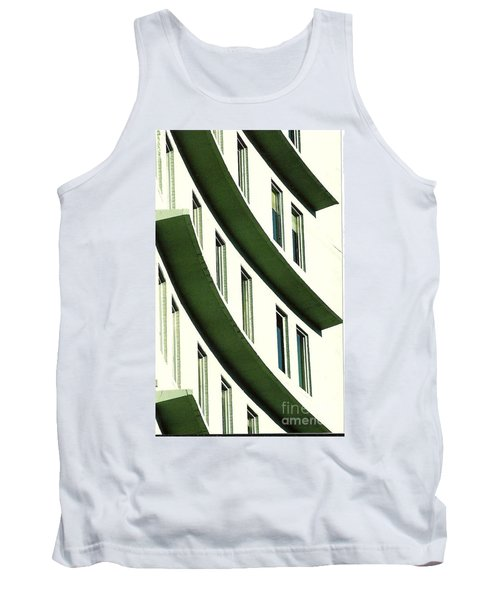 Tank Top featuring the photograph Hotel Ledges Of A New Orleans Louisiana Hotel by Michael Hoard