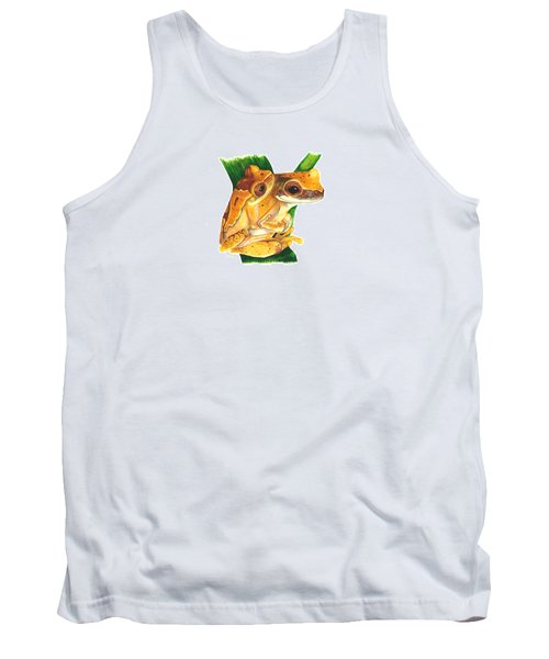 Hourglass Treefrog Tank Top by Cindy Hitchcock