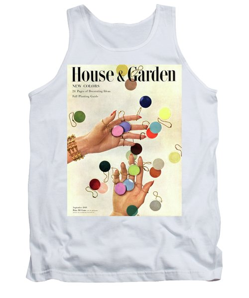 House & Garden Cover Of Woman's Hands With An Tank Top