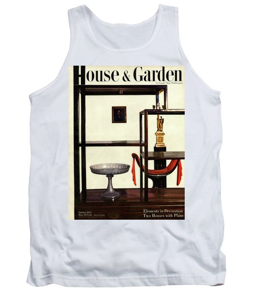 House And Garden Cover Featuring A Chinese Tank Top