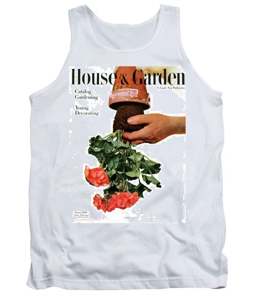 House And Garden Cover Featuring A Person Tank Top