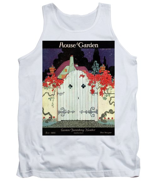 House And Garden Garden Furnishing Number Cover Tank Top
