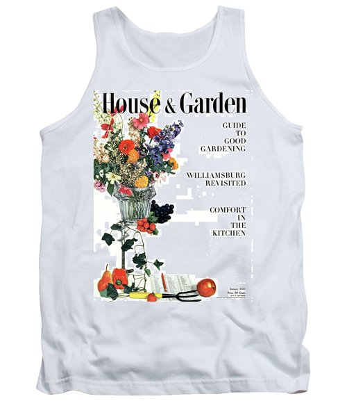 House And Garden Guide To Good Gardening Cover Tank Top