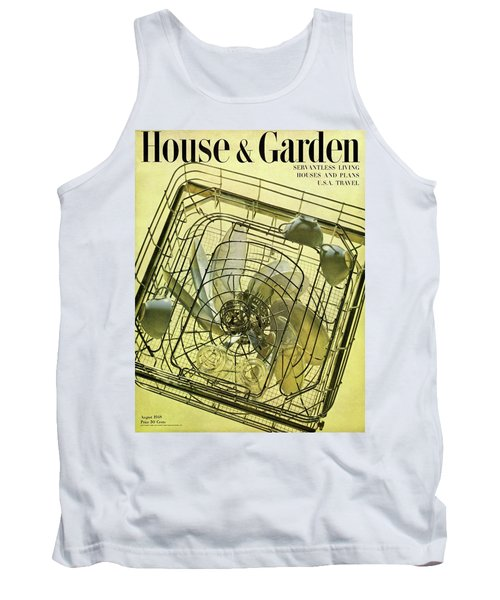 House And Garden Servant Less Living Houses Cover Tank Top