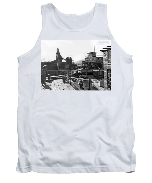 Houseboats In Sausalito Tank Top