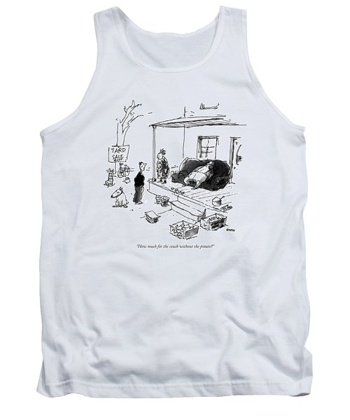 How Much For The Couch Without The Potato? Tank Top