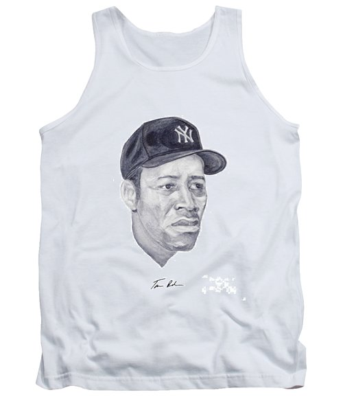 Tank Top featuring the painting Howard by Tamir Barkan