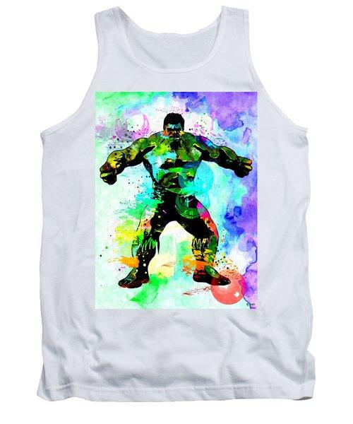 Hulk Watercolor Tank Top