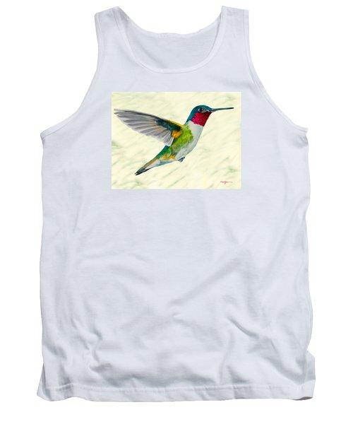 Da103 Broadtail Hummingbird Daniel Adams Tank Top
