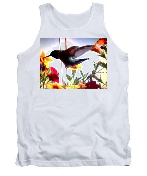 Hummingbird Tank Top by Renee Michelle Wenker