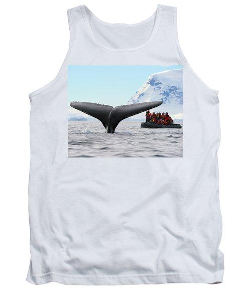 Humpback Whale Fluke  Tank Top