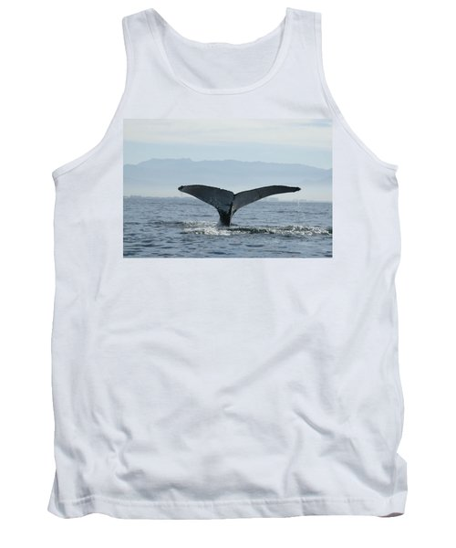 Humpback Whale Tail 3 Tank Top