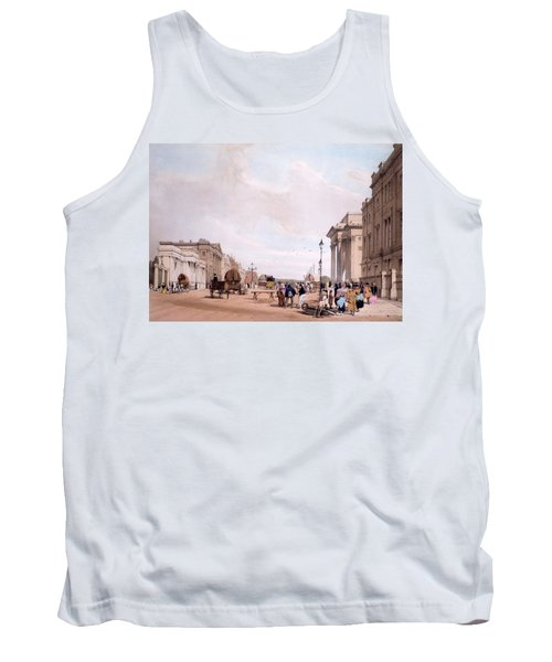 Hyde Park Corner, Looking Tank Top by Thomas Shotter Boys